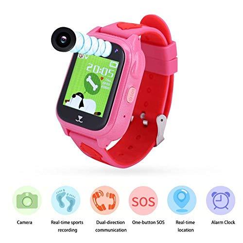 Vbestlife Reloj para Niños GPS + LBS + GPRS Podómetrocon Pantalla Táctil...