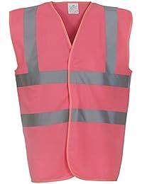 Pink Hi Vis Waistcoat - Sizes M - XXXL