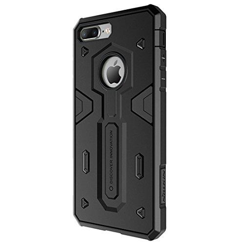 IPhone 7 Plus Fall NILLKIN Tough Defener II Gehäuse Shockproof TPU + PC Kombi Hülle für iPhone 7 Plus by diebelleu ( Color : Red ) Black