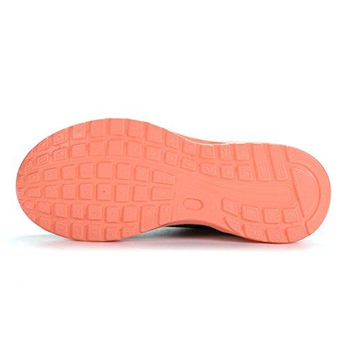 Dexuntong Unisex Air Scarpe da Ginnastica Scarpe Casual Outdoor Scarpe da Passeggio all'aperto Scarpe da Corsa Scarpe da Basket per Uomini e Donne nero rosa