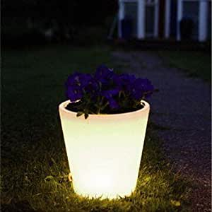 Large Solar Powered Colour Changing Garden Flower Plant