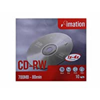 Imation CD-R 52x 700MB 10pcs in Slim Case