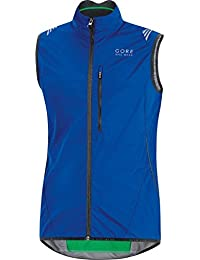 Gore Bike Wear Element Windstopper Active Shell - Chaleco para hombre, color azul, talla M