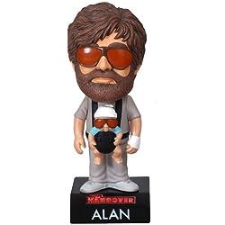 Wacky Wobbler Alan mit Baby-One Sheet in Las Vegas, Figur mit Sound 18cm (Funko funwwbt2128)