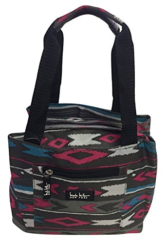 nicole-miller-of-new-york-insulated-lunch-cooler-11-lunch-tote-chevron-pink-by-nicole-miller