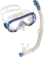 cressi Tauchset Schnorchelset Kinder  (Maske + Schnorchel) Ondina + Top - Pack de buceo, color azul, talla única