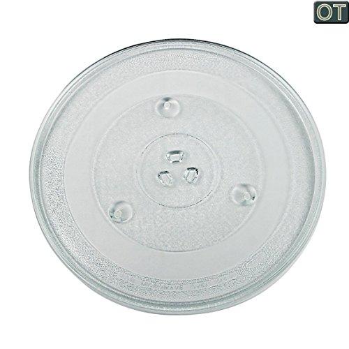 VIOKS Mikrowellenteller Teller Drehteller Glasteller für Mikrowelle Herd Universal Durchmesser: 315 mm 31,5 cm