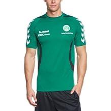 Hummel T-Shirt Furth Tee 2013 - Camiseta de fitness para hombre, color verde oscuro, talla 2XL