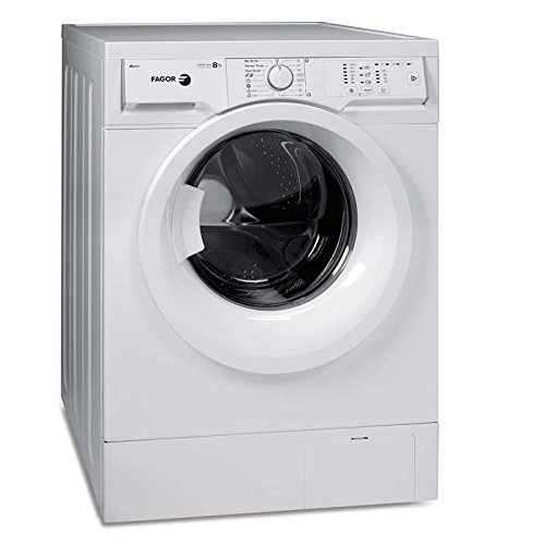 Fagor FE-812 Independiente Carga frontal 8kg 1200RPM A+++-10% Color blanco - Lavadora (Independiente, Carga frontal, A+++-10%, B, Color blanco, Derecho)