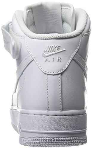 adidas Wmns Air Force 1 '07 Mid, Scarpe da Ginnastica Donna Bianco (White)