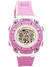Vizion Digital Multi-Color Dial Children's Watch -8017B-4