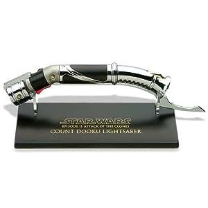 Mini Lightsaber (Sabre-Laser) du Comte Dooku - Episode 2 - Métal 15 cm