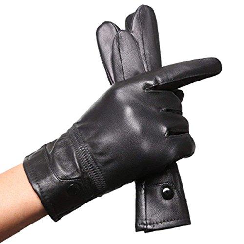 (Neue Damen Lange Fingerlose Handschuhe Blumen Wärmen Parteien Arm Sets Herbst Und Winter Unikat Style Blue Fäustlinge (Color : Schwarz, Size : XL))