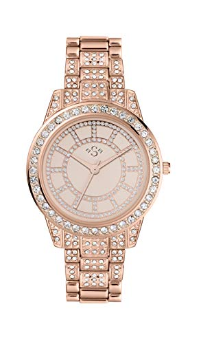 Spirit Lux Ladies' Rose Stone Set Bracelet Watch (22289317) Best Price and Cheapest