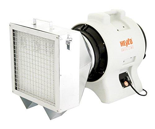 HEYLO StaubStop BASIC Filter-Luftreiniger gegen Grobstaub und Feinstaub auf Baustellen