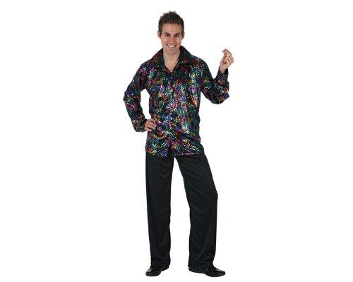 Atosa – Disfraz de disco para hombre, talla XL (97019)