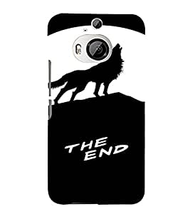 PrintVisa Animal Tiger Design 3D Hard Polycarbonate Designer Back Case Cover for HTC ONE M9+