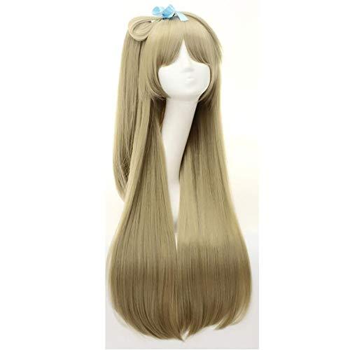 JYZ Cosplay Perücke Beauty Smooth Hair Hitzebeständige Faserperücken Synthetisches Haar für Halloween Kostüm Party Anime-Fans (Comic Con Kostüm Anime)