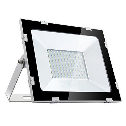 Yuanline Focos LED Exterior de Blanco Frío 150W 15000LM, 6000-6600k, Ultrafino y...