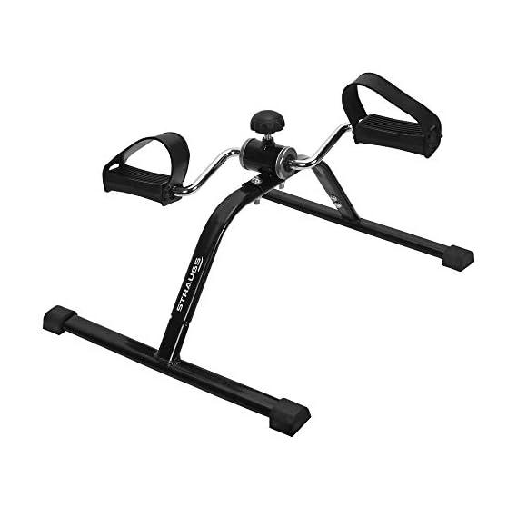 Strauss Mini Cycle Exercise Bike, (Black)