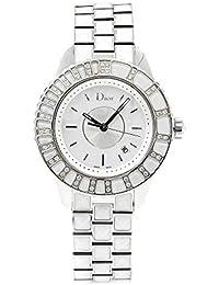 f507a9de432b Christian Dior CD113112M003 - Reloj de Pulsera para Mujer (Acero  Inoxidable