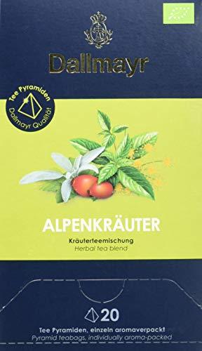 Dallmayr Teepyramide Alpenkräuter Bio, 1er Pack (1 x 50 g)