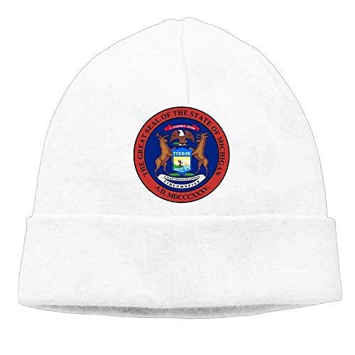 ASKYE Hedging Cap Michigan Emblem Cool Wool Beanies Cap - Girls-cable Knit Tights