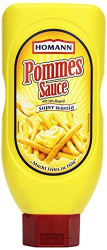 Homann Pommes Sauce, 12er Pack (12 x 450 ml)