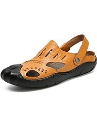XUE Scarpe da Uomo in Pelle Primavera Estate Comfort Suole Leggere Sandali  Ciabatte 19ca49f17e5
