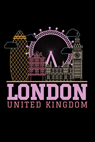 London United Kingdom: 110 pages Notebook/Journal -
