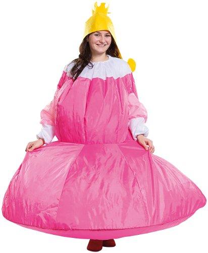 stüm: Selbstaufblasendes Kostüm Prinzessin (Damenkostüme) (Hund Kostüme Für Frauen)