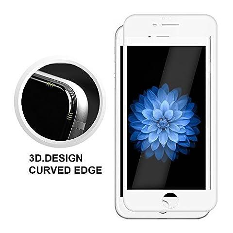 iPhone 6/6s Plus Film de Protection d' Écran 3D Incurvé