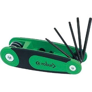 Robur–Schlüssel Torx Objektiv auf–T9–T10–T15–T20–T25–T27–T30–T40