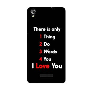 FASHEEN Premium Designer Soft Case Back Cover for Gionee P5W