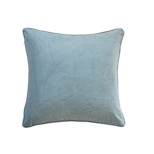 Semplice cuscino in pile tinta unita/ moderno peluche cuscino/ divano cuscini/ indietro cuscino letto-H 30x50cm(12x20inch)VersionB