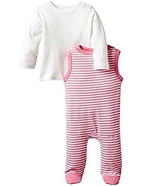 Twins Baby - Mädchen Strampler, gestreift, im Set mit Langarmshirt