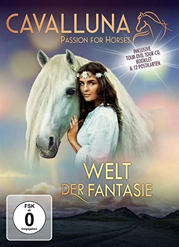 Cavalluna - Passion for Horses - Welt der Fantasie (+ CD) [2 DVDs]