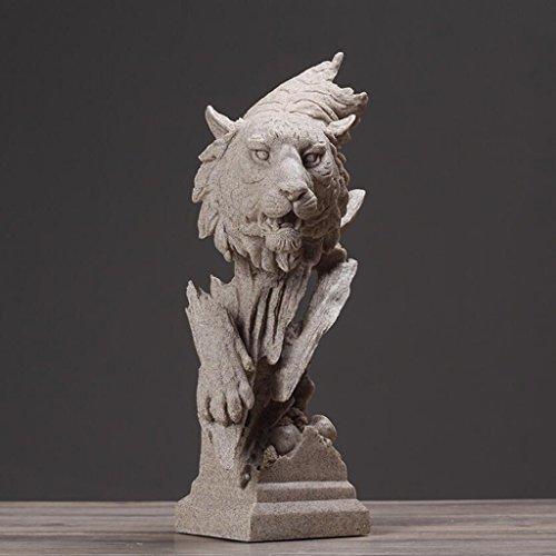 Statuetta accessori per la casa creativa arenaria nordica scultura tigre statua ornamenti di opere d'arte camera da letto soggiorno studio ornamenti per ufficio uomun