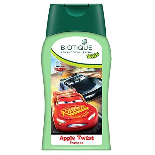 Bio Disney Pixar Cars Shampoo, Apple-Twist, 200ml - (Verpackung aufgrund neuer Ankunft variieren kann) -