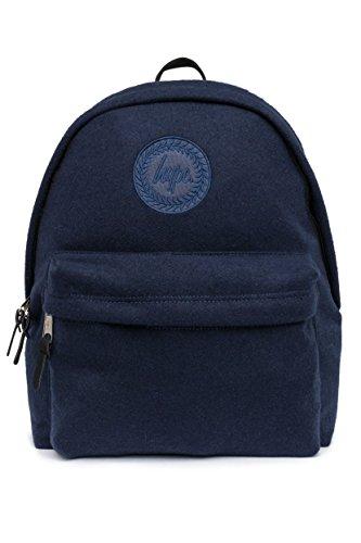 HYPE NAVY WOOL BACKPACK - Bolsa escolar Azul NAVY WOOL