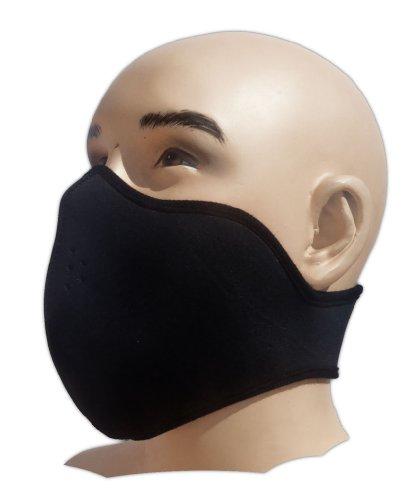 Bestellmich Masque de motard avec tatouage en néoprène filtrant la poussière convenant aussi au snowboard, au ski, aux sports extrêmes, au paintball...