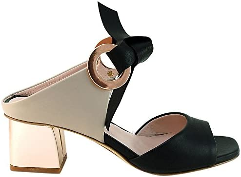 Gianni Marra 4057, Zapatos de Tacón con Punta Abierta para Mujer