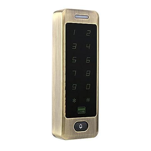 mountainone Wasserdicht Metall Touch 8000Nutzer Tür RFID Access Control Tastatur Fall Reader 125kHz EM4100ID Card