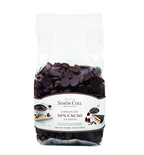 Gotas de chocolate SIMON COLL (500 gr)