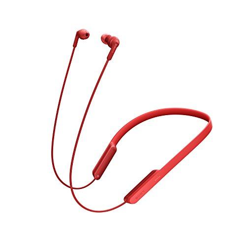 Sony MDRXB70BTR.CE7 Extra Bass Kabellose Ohrhörer (Nackenbügel, NFC, Freisprecheinrichtung für Apple iPhone und Android, 9 Stunden Laufzeit)