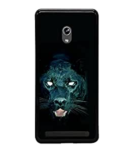 printtech Black Panther Back Case Cover for Asus Zenfone 6 A600CG