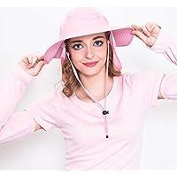 Yudanwin ☼ Un Regalo Perfetto Cappello con Visiera Larga Protezione UV Cappello  con Visiera a Falda 926dcc349c80