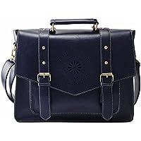 ECOSUSI Donna Vintage Borsa Messenger Bag Borsa a