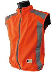 L2S Visioplus - Chaleco de seguridad para adulto naranja naranja Talla:large