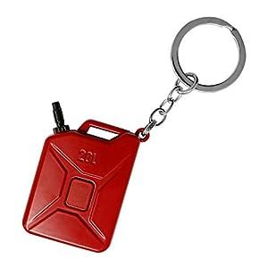 Maexus Mini PUBG Metall Schlüsselanhänger Der Jedi Survival Battle Rucksack Anhänger Royal Battle Decor Zubehör -Red Barrels